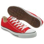 Converse Men's All Star Core Ox Shoes (Red)