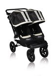 2011 Baby Jogger Swivel City Elite Series Double Black Sport