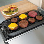 Lodge Logic Double Burner Griddle - Lodge Logic