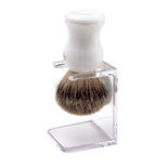 Autruche Pure badger brush with stand