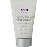 NOW Foods by Now Wrinkle Rescue Moistruizer Restorative Lift & Toning-Mature Skin 2 oz