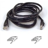 Belkin Cat5e Patch Cable - RJ-45 Male - RJ-45 Male - 1.83m - Black (A3L791-06-BLK)