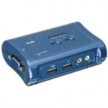 TRENDnet - TK-209K - 2-Port USB KVM Switch Kit with Audio and Cables
