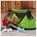 Kidco Peapod Travel Bed Lime