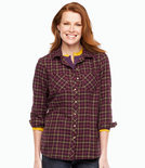 Women's Camp Shirt, Flannel