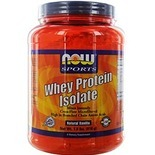 NOW Foods by Now Sports Whey Protein Isolate- Natural Vanilla 1.8 lbs