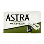 10 Astra Double-Edge Safety Razor Blades
