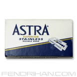 10 Astra Stainless Double-Edge Safety Razor Blades
