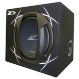 "Alpine SBE-12PR 12"" Self Amplified Car Subwoofer Enclosure"