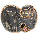 Rawlings Heart of the Hide Catchers Mitt - Black/Tan