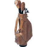 Mulholland - Golf Bag Leather (Men's) - All Leather Lariat