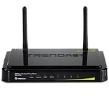 Trendnet TEW-731BR 300 Mbps Wireless-N Home Router - 300 Mbps, Wireless-N, 4x 10/100Mbps, 1x 10/100Mbps, 2.412-2.484GHz, 2x 2dBi fixed dipole antennas